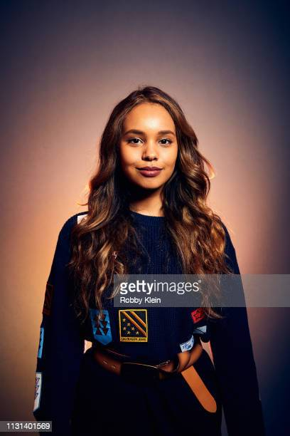 Alisha Boe of the film 'Yes God Yes' poses for a portrait at the 2019 SXSW Film Festival Portrait Studio on March 9 2019 in Austin Texas