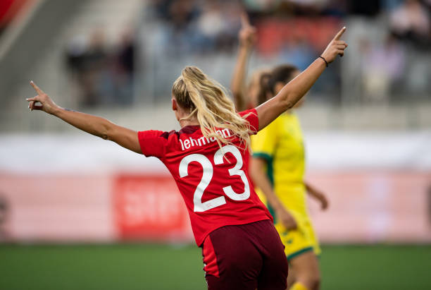 CHE: Switzerland v Lithuania: Group G - FIFA Women's WorldCup 2023 Qualifier