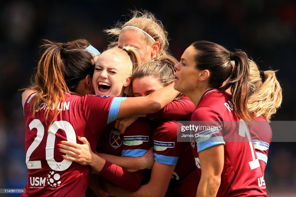 Reading Women v West Ham United Ladies - Women's FA Cup Semi Final : News Photo