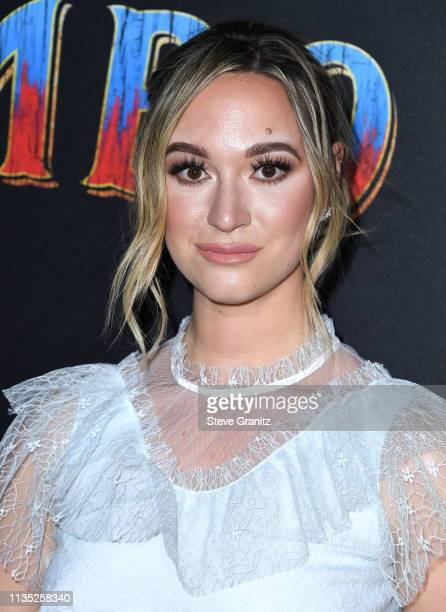 Alisha Marie arrives at the Premiere Of Disney's 'Dumbo' attends the premiere of Disney's 'Dumbo' at El Capitan Theatre on March 11 2019 in Los...