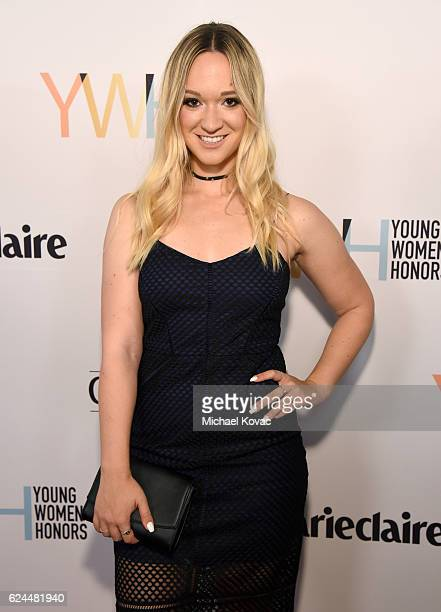Alisha Marie attends Moet Chandon Celebrates The 2016 Young Women's Honors at Marina del Rey Marriott on November 19 2016 in Marina del Rey California