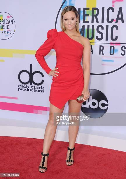 Alisha Marie attends the 2017 American Music Awards at Microsoft Theater on November 19 2017 in Los Angeles California