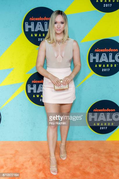 Alisha Marie attends the 2017 Nickelodeon Halo Awards at Pier 36 on November 4 2017 in New York City