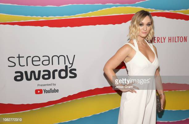 Alisha Marie attends The 8th Annual Streamy Awards at The Beverly Hilton Hotel on October 22 2018 in Beverly Hills California