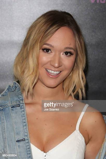 Alisha Marie attends the 9th Annual VidCon at Anaheim Convention Center on June 20 2018 in Anaheim California