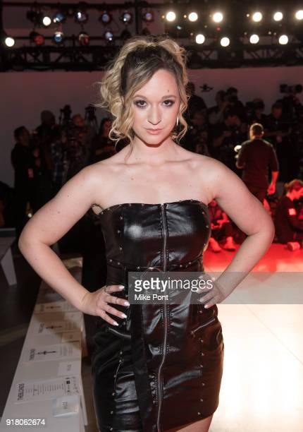 Alisha Marie attends The Blonds fashion show during New York Fashion Week The Shows at Spring Studios on February 13 2018 in New York City