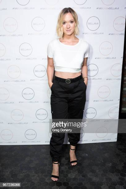 Alisha Marie attends the Niki Gabi DeMartino X Bellami Collection Launch Party at Avenue on May 10 2018 in Los Angeles California