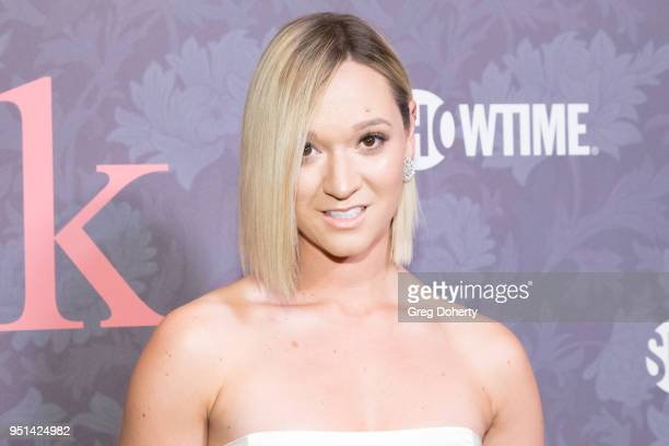 Alisha Marie attends the Patrick Melrose Series Premiere at Linwood Dunn Theater on April 25 2018 in Los Angeles California