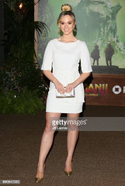 Alisha Marie attends the premiere of Columbia Pictures' 'Jumanji Welcome To The Jungle' on December 11 2017 in Los Angeles California