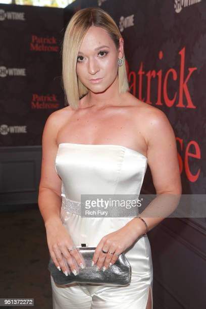 Alisha Marie attends the premiere of Showtime's 'Patrick Melrose' at Linwood Dunn Theater on April 25 2018 in Los Angeles California