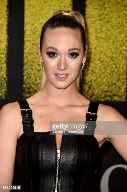 Alisha Marie attends the premiere of Universal Pictures' Pitch Perfect 3 at Dolby Theatre on December 12 2017 in Hollywood California