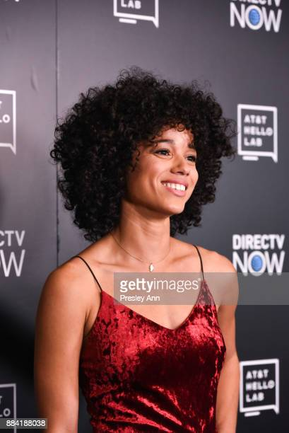 Alisha Wainwright attends ATT Hello Lab's Mentorship Program Debuts Five Short Films Red Carpet at Hammer Museum on December 1 2017 in Los Angeles...