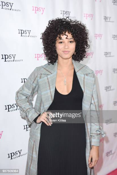 Alisha Wainwright attends ipsy Gen Beauty at the Los Angeles Convention Center on March 24 2018 in Los Angeles California