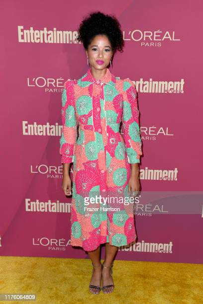 Alisha Wainwright attends the 2019 Entertainment Weekly PreEmmy Party at Sunset Tower on September 20 2019 in Los Angeles California