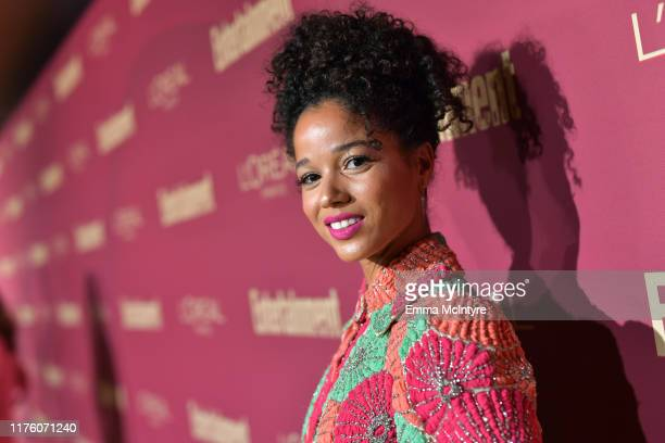 Alisha Wainwright attends the 2019 PreEmmy Party hosted by Entertainment Weekly and L'Oreal Paris at Sunset Tower Hotel in Los Angeles on Friday...