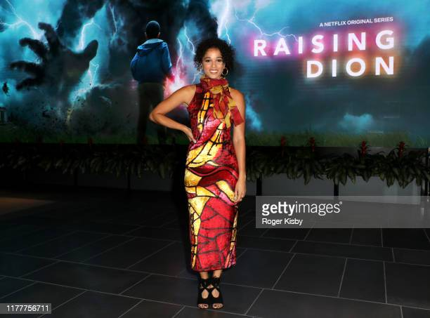 "Alisha Wainwright attends the Netflix ""Raising Dion"" Special Screening at Netflix on September 28 2019 in Los Angeles California"