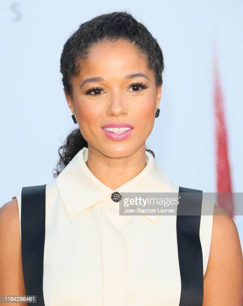 Alisha Wainwright attends the Premiere of Warner Bros Pictures' It Chapter Two at Regency Village Theatre on August 26 2019 in Westwood California