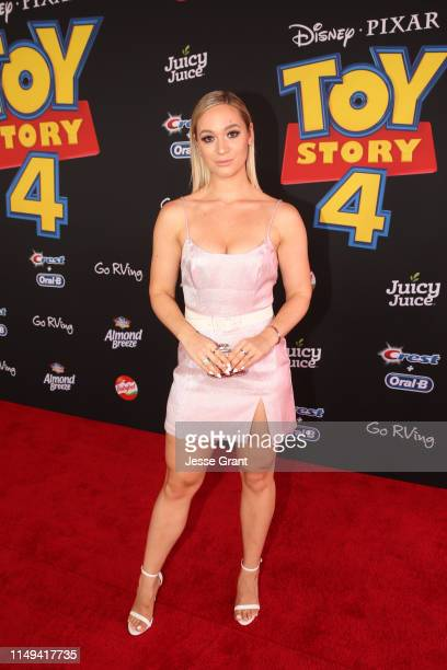 AlishaMarie attends the world premiere of Disney and Pixar's TOY STORY 4 at the El Capitan Theatre in Hollywood CA on Tuesday June 11 2019