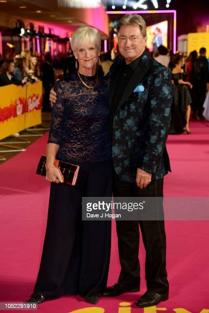 Alison and Alan Titchmarsh attend the ITV Palooza held at The Royal Festival Hall on October 16 2018 in London England