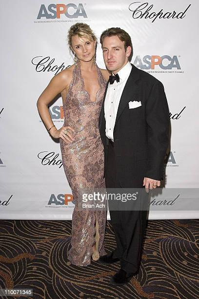 Alison and Jay Aston during Chopard Supports the ASPCA at the Bergh Ball at Mandarin Hotel in New York United States