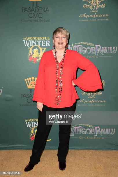 Alison Arngrim attends the World Premiere Of Lythgoe Family Pantos' 'The Wonderful Winter Of Oz' Opening Night at Pasadena Civic Auditorium on...