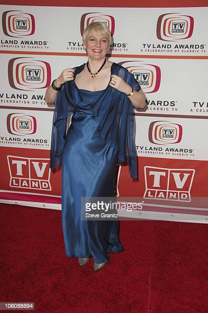 Alison Arngrim during 4th Annual TV Land Awards Arrivals at Barker Hangar in Santa Monica California United States