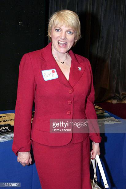 Alison Arngrim during Alison Arngrim hosts the Times Square Social at Madame Tussauds at Madame Tussauds in New York City NY
