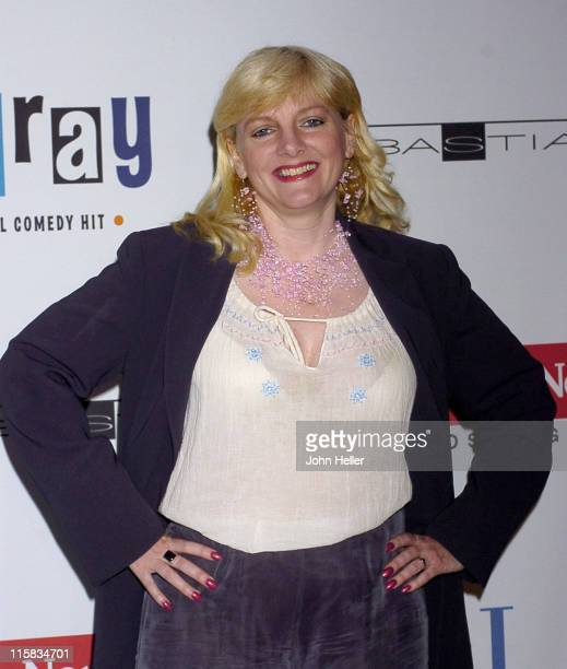 Alison Arngrim during 'Hairspray' Opening Night Los Angeles Arrivals at Pantages Theatre in Hollywood California United States