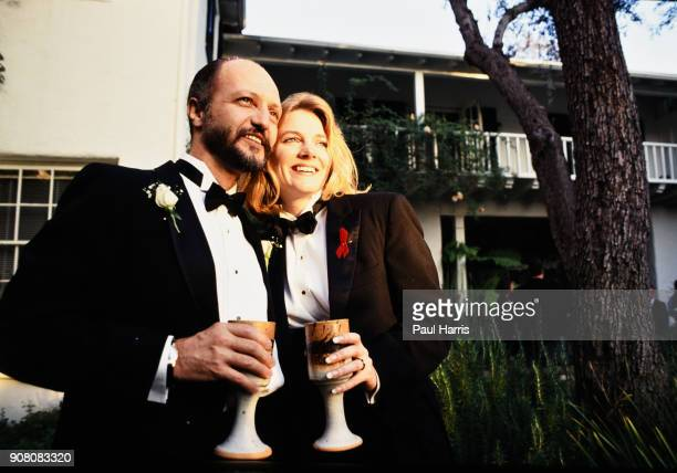 Alison Arngrim married her second husband musician Robert Paul Schoonover whom she met while volunteering at AIDS Project Los Angeles where he was...