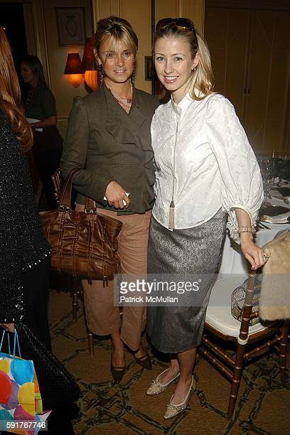 Alison Aston and Blair Husain attend Fabiola Beracasa Tinsley Mercer Mortimer and Emilia Fanjul Pfeifler Host an Intimate Luncheon Celebrating the...