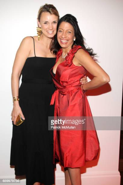 Alison Aston and Lisa Anastos attend AMERICAN FRIENDS OF THE LOUVRE's Young Patrons Circle Soiree au Louvre 2009 at The Centurion on May 20 2009 in...