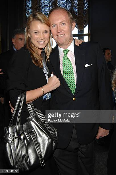 Alison Aston and Mark Gilbertson attend The 2008 ASPCA Humane Awards at Rainbow Room on October 30 2008 in New York City