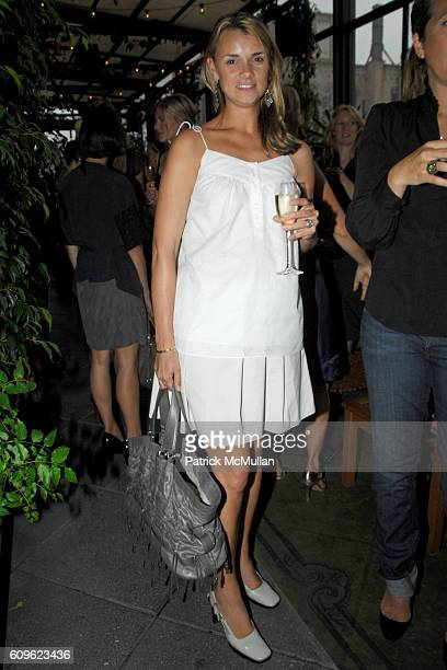 Alison Aston attends MULBERRY and VOGUE Cocktail Party at Gramercy Park Hotel PRC on September 10 2007 in New York City