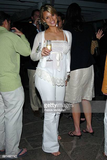 Alison Aston attends Whitney Contemparies and BlackBook Magazine Celebrate Art Basel at Sky Bar at The Shore Club on December 2 2005