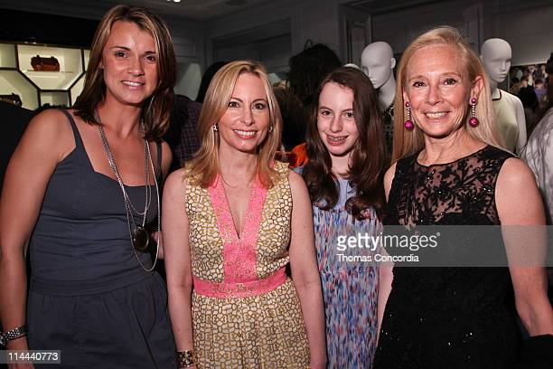 Alison Aston Gillian Miniter Serena Miniter and Karen LeFrak attend the opening of the Milly Madison Avenue boutique on May 19 2011 in New York City