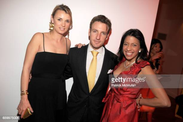 Alison Aston Jay Aston and Lisa Anastos attend AMERICAN FRIENDS OF THE LOUVRE's Young Patrons Circle Soiree au Louvre 2009 at The Centurion on May 20...