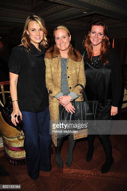 Alison Aston Phoebe Gubelmann and Kari Talley attend 2020 II LIA SOPHIA at Rose Club at The Plaza NYC on November 17 2008