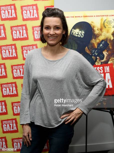 Alison Bailes attends Eyeless In Gaza NYC Premiere Screening on February 8 2017 in New York City