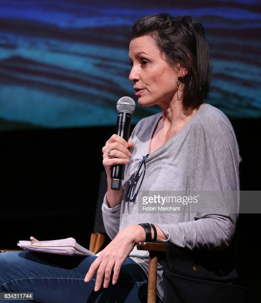 Alison Bailes attends Eyeless In Gaza NYC Premiere Screening QA Panel on February 8 2017 in New York City