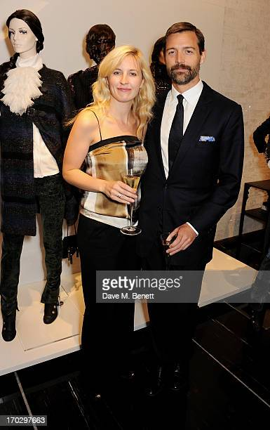 Alison Balsom and Patrick Grant attend a private view of the new CHANEL flagship boutique on New Bond Street on June 10 2013 in London England