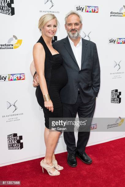 Alison Balsom and Sam Mendes attend The Southbank Sky Arts Awards 2017 at The Savoy Hotel on July 9 2017 in London England