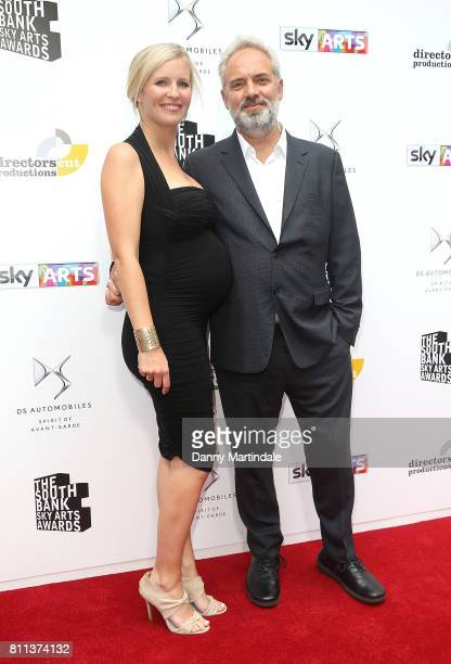 Alison Balsom and Sam Mendes attending The Southbank Sky Arts Awards 2017 at The Savoy Hotel on July 9 2017 in London England