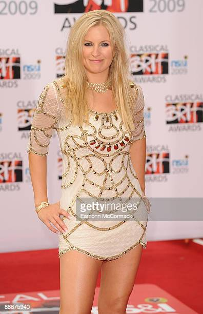 Alison Balsom attends The Classical Brit Awards at Royal Albert Hall on May 14 2009 in London England