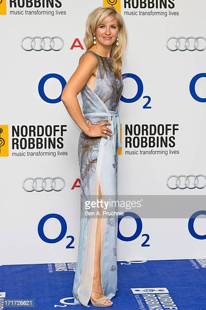 Alison Balsom attends the Nordoff Robbins Silver Clef awards at London Hilton on June 28 2013 in London England