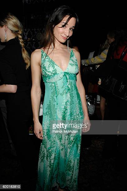 Alison Becker attends CONDE NAST TRAVELER 8th Annual HOT LIST PARTY at Mansion on April 17 2008 in New York City