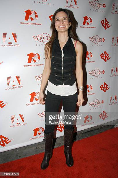 Alison Becker attends MEAT LOAF In Search of Paradise Screening at IFC Center on March 12 2008 in New York City