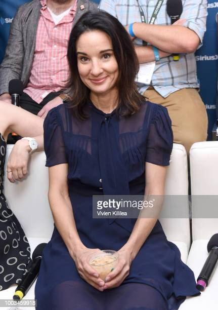 Alison Becker attends SiriusXM's Entertainment Weekly Radio Broadcasts Live From Comic Con in San Diego at Hard Rock Hotel San Diego on July 20 2018...
