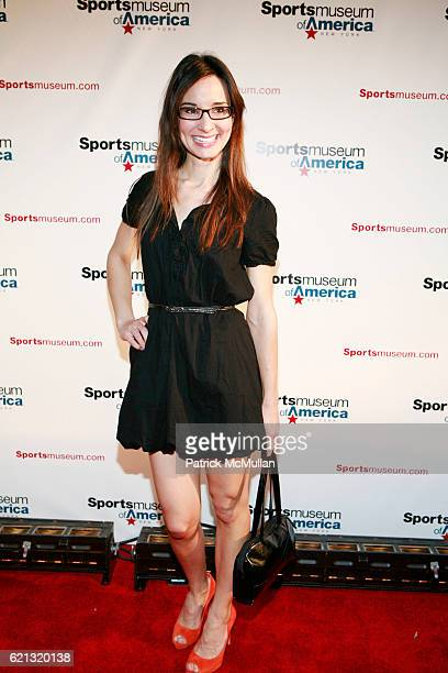 Alison Becker attends SPORTS MUSEUM OF AMERICA OPENING NIGHT GALA at SPORTS MUSEUM OF AMERICA on May 6 2008 in New York City