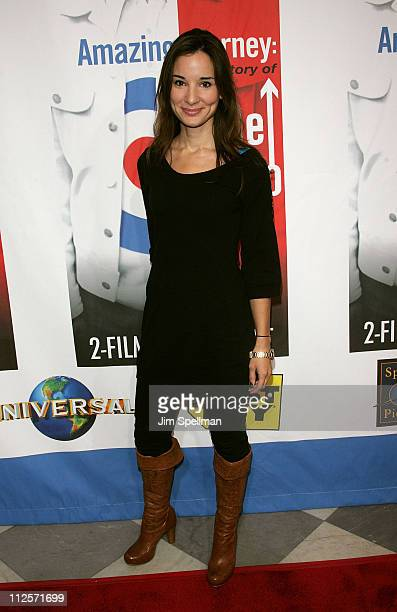 Alison Becker attends the 'Amazing Journey The Story of The Who' Premiere at the Paley Center for Media on October 30 2007 in New York City