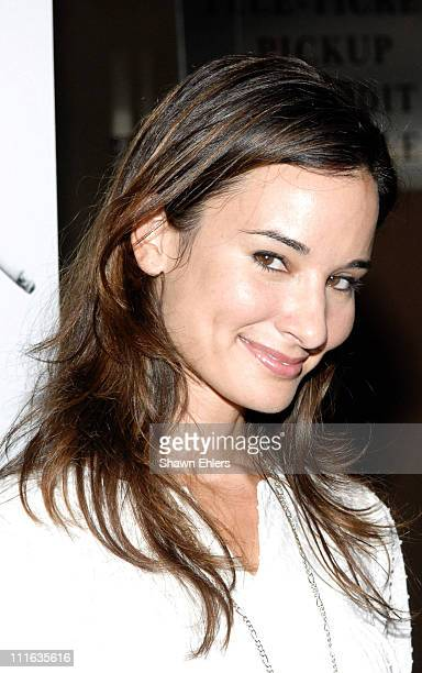 Alison Becker attends the Control New York City Premiere September 25 2007 at Chelsea West Cinema in New York City